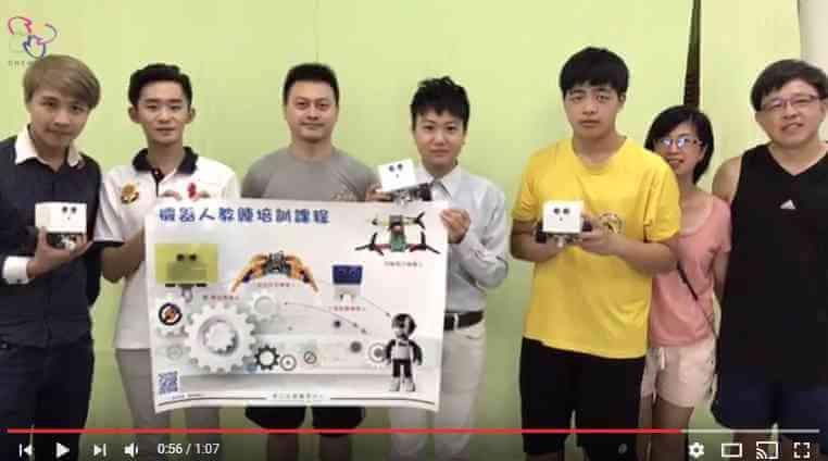 輪型機器人教練班